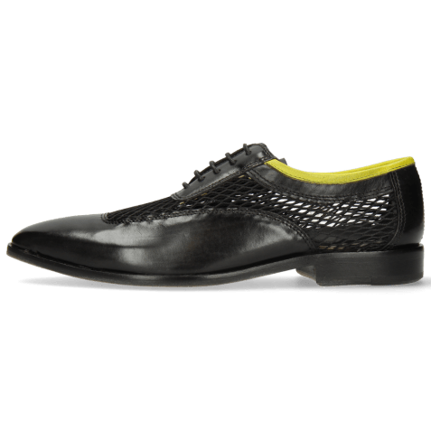 Richelieu Sara 1 Black Big Net Fluo Yellow
