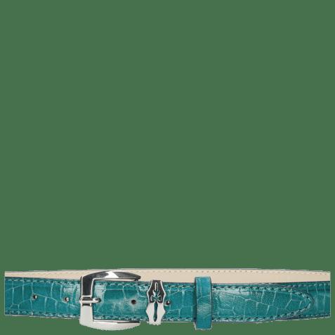 Ceintures Linda 1 Crock Turquoise Sword Buckle