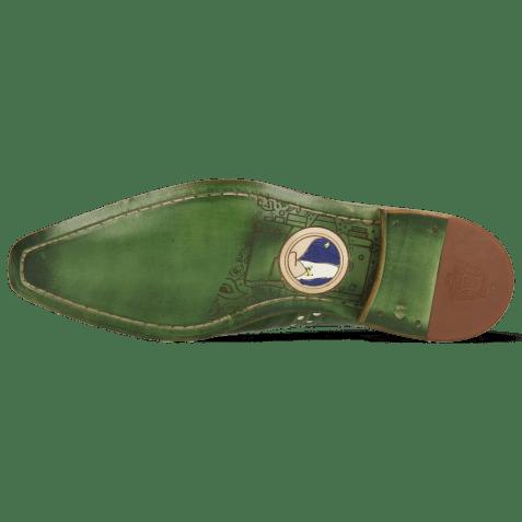 Derbies Lance 66 Galap Harris Green Underlay