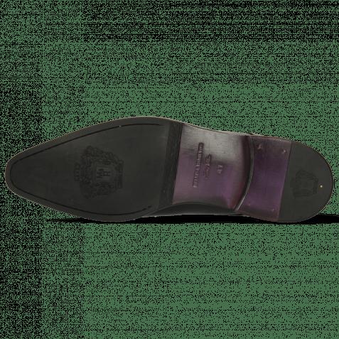 Monks Lance 1 Black Lining Purple Flex Black