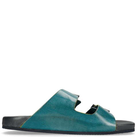 Mules Robert 7 Mid Blue