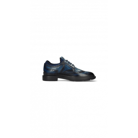 Derbies Ron 2 Mid Blue Shade Navy