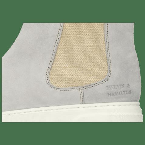 Bottines Hailey 2 Parma Suede French Grey Elastic Lino