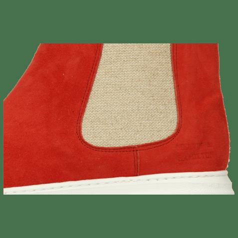 Bottines Hailey 2 Parma Suede Tibet Elastic Lino