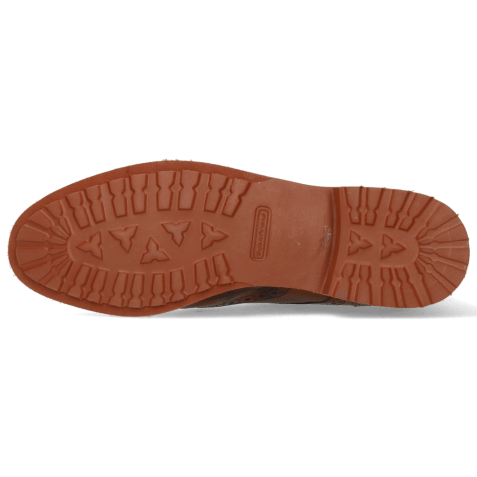 Bottines Amelie 17 Crock Mid Brown Lizzard Sand Turtle Wood