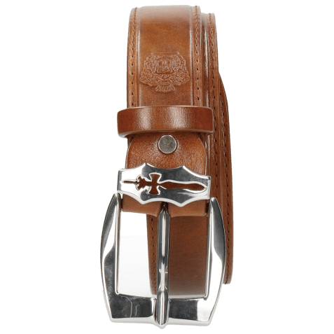 Ceintures Larry 1 Tan Sword Buckle