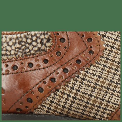Derbies Clint 19 Wood Textile English Hairon Halftone