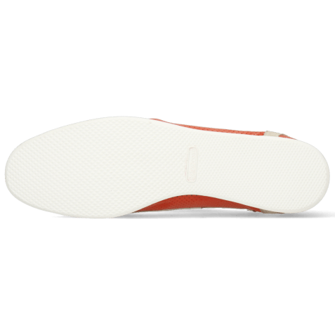 Sneakers Pearl 1 Goat Suede Ivory Imola Perfo Fiesta Nappa White