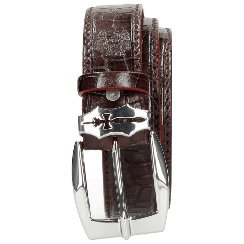 Ceintures Larry 1 Crock Deep Pink Sword Buckle