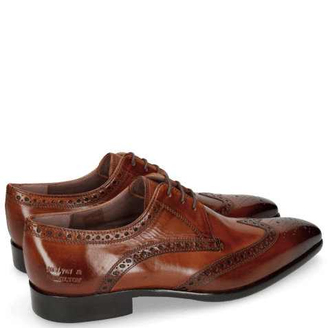Derbies Lance 2 Tan Lining Purple
