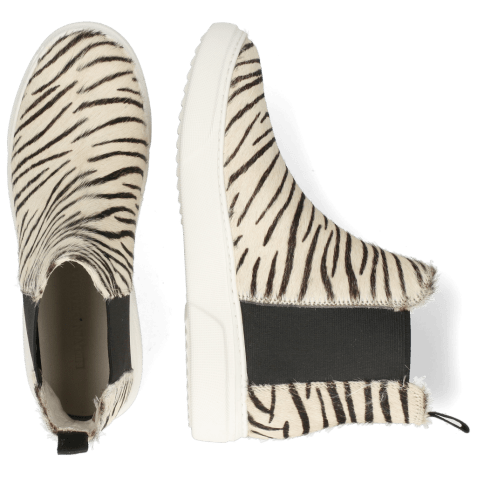 Bottines Hailey 15 Hairon Young Zebra