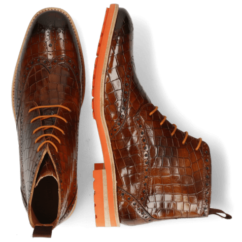 Bottines Eddy 10 Crock Wood Rich Tan Orange