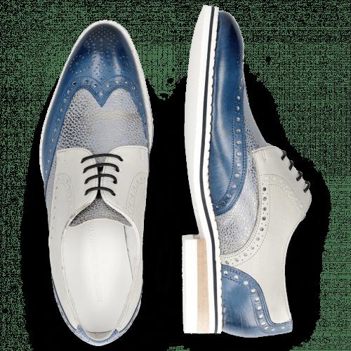 Derby schoenen Kane 5 Vegas Mock Navy Grafi Silver Blue Digital
