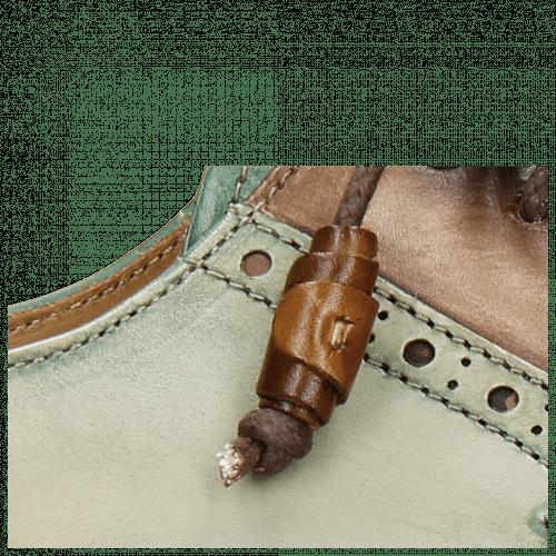 Derby schoenen Marvin 13 Dark Brown Pine