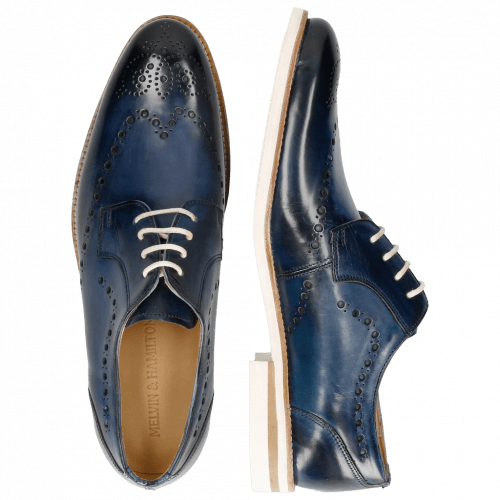 Derby schoenen Scott 7 Washed Navy