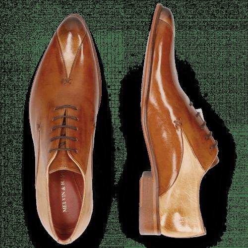 Oxford schoenen Toni 31 Nude Tan