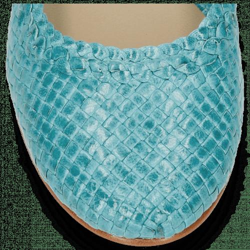 Ballerina's Kate 5 Woven Turquoise