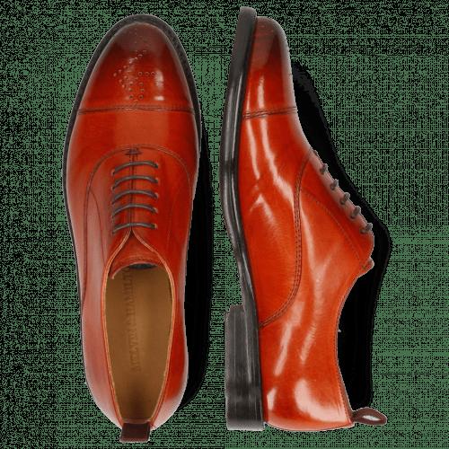 Oxford schoenen Selina 26 Winter Orange Lining