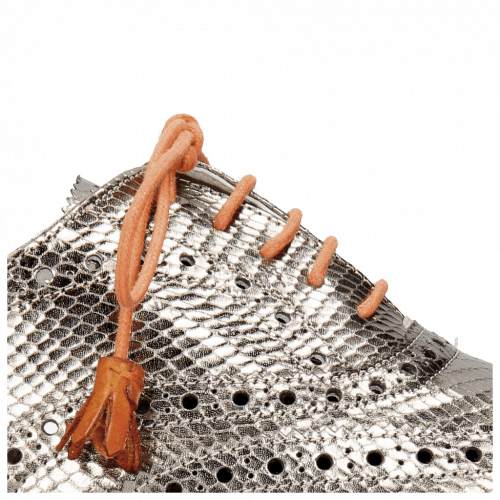 Oxford schoenen Monica 4 Glitter Gunmetal