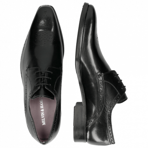 Derby schoenen Lance 4 Crust Black HRS