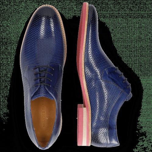 Derby schoenen Clint 24 Perfo Sapphire Modica
