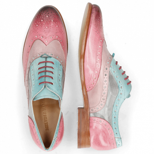 Oxford schoenen Selina 30 Vegas Bubblegum Light Purple Mermaid Cyber