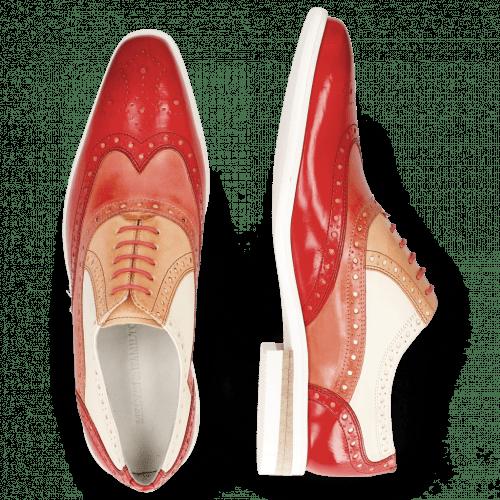 Oxford schoenen Lance 14 Vegas Ruby Earthly Howline White Ruby