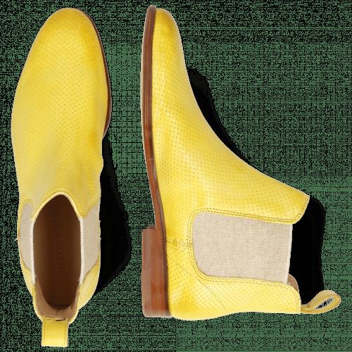 Enkellaarzen Susan 10 Imola Perfo Margarine Elastic Lino