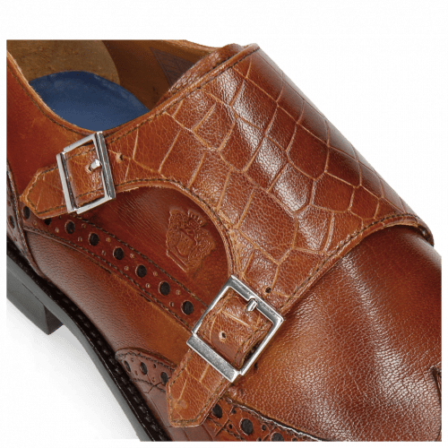Monks Martin 2 Venice Crock Tan Insole Leather