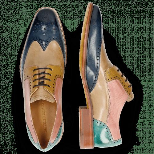 Derby schoenen Jeff 14 Wind Digital Olivine Skin