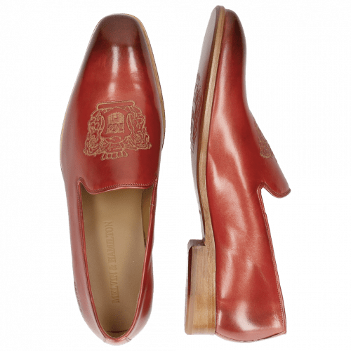 Loafers Prince 2 Red Gold Finish
