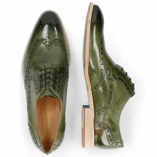 Derby schoenen Bobby 5 Washed Algae