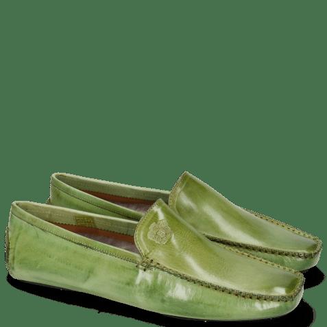 Loafers Home Donna  New Grass Split Black