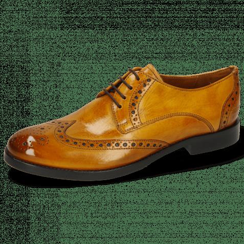 Derby schoenen Amelie 3 Indy Yellow Lining Nappa