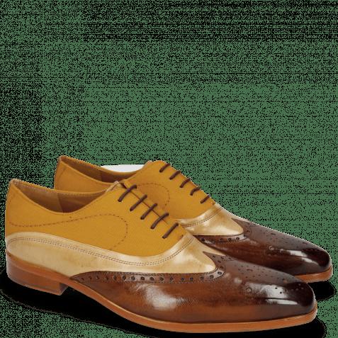 Oxford schoenen Lewis 4  Wood Canvas Orange