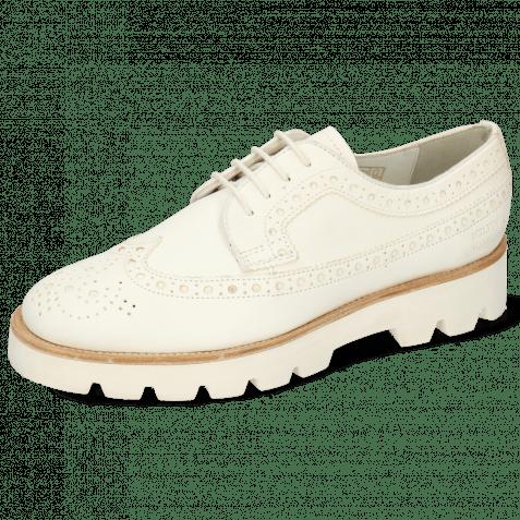 Derby schoenen Jade 2  Flex White Lining Collar