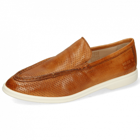 Loafers Adley 1 Imola Perfo Tan