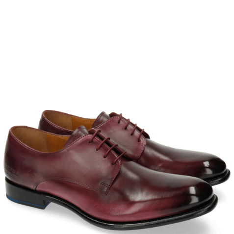 Derby schoenen Tyler 2 Burgundy