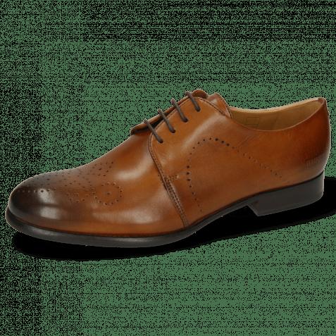 Derby schoenen Sally 1 Wood Lining Rich Tan HRS