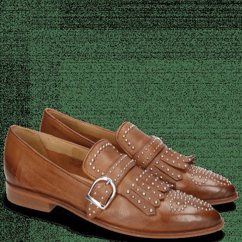 Loafers Jessy 26 Pavia Tan Lining Collar Rich Tan