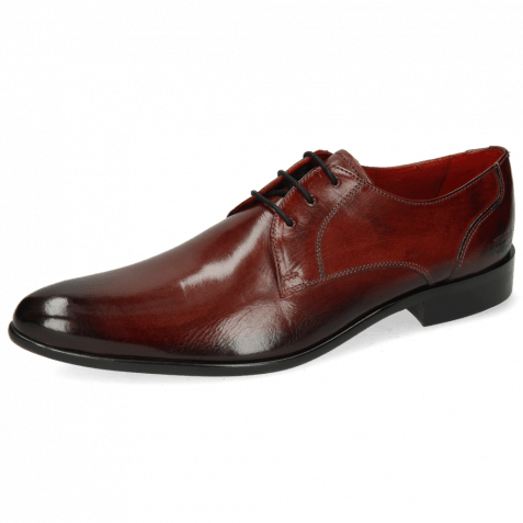 Derby schoenen Toni 1 Plum Shade Black