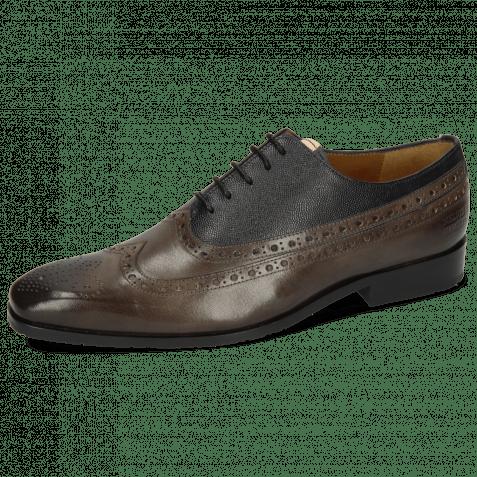 Oxford schoenen Rico 39 Rio Deep Steel Little Scotch Navy
