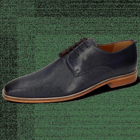 Derby schoenen Alex 1 Venice Haina Navy