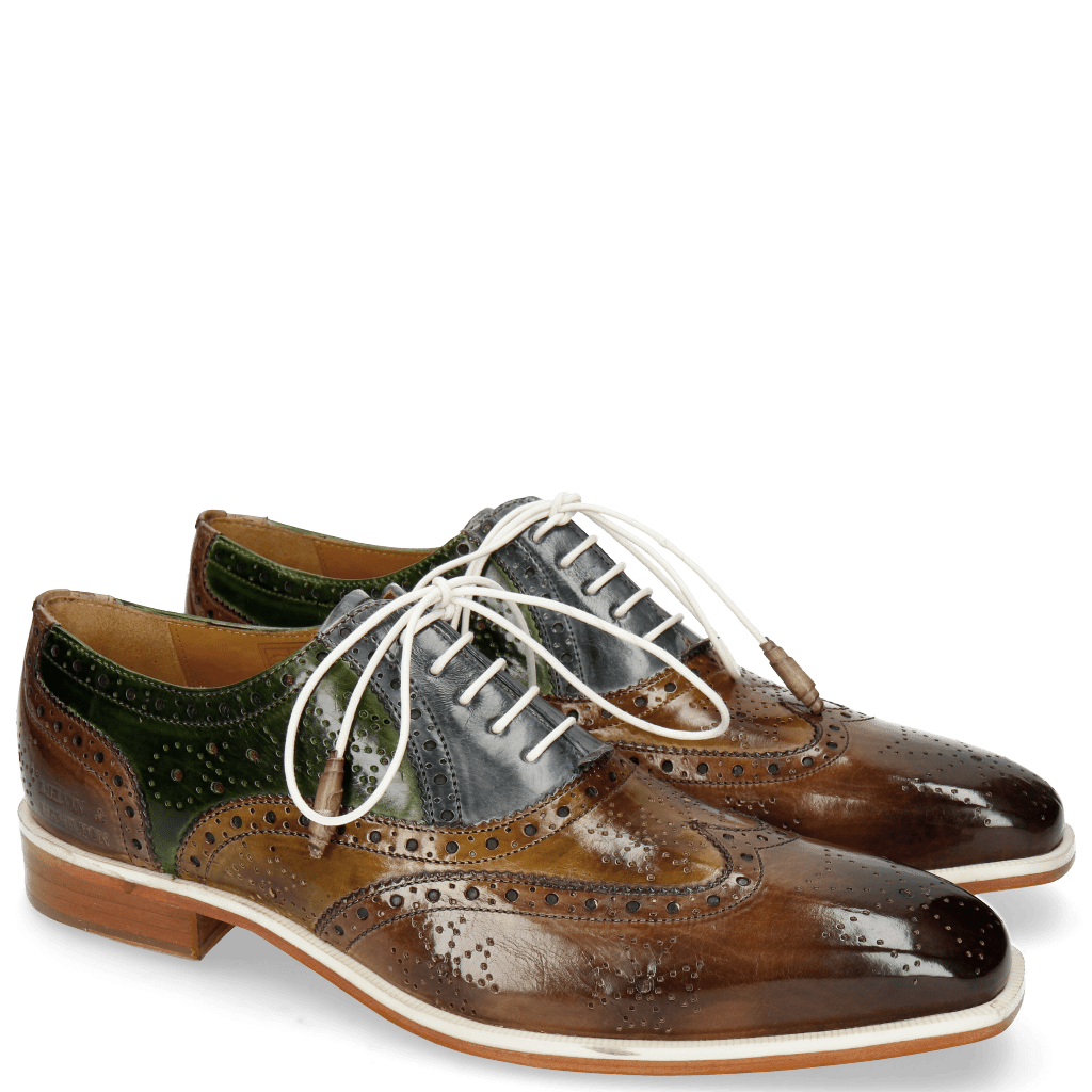 Oxford schoenen Jeff 28 New Taupe Bambo Satelite Ultra Green