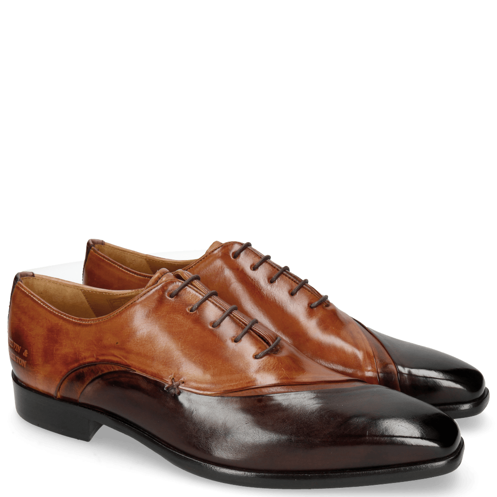 Oxford schoenen Lance 44 Mogano Wood Tan