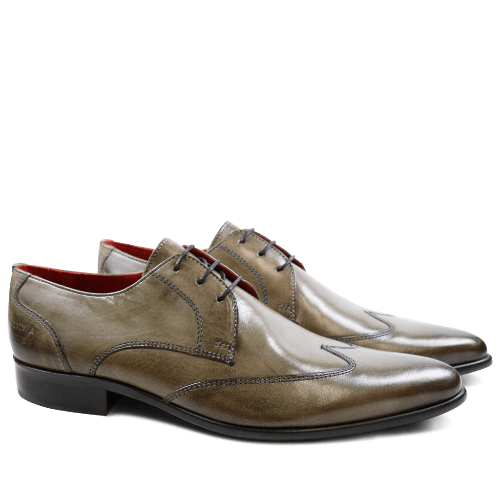 Derby schoenen Toni 2 Forum Grey LS Red