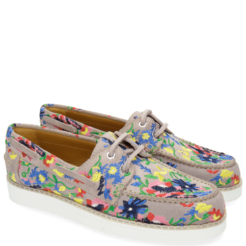 Loafers Ally 1 Rose Embrodery Flower