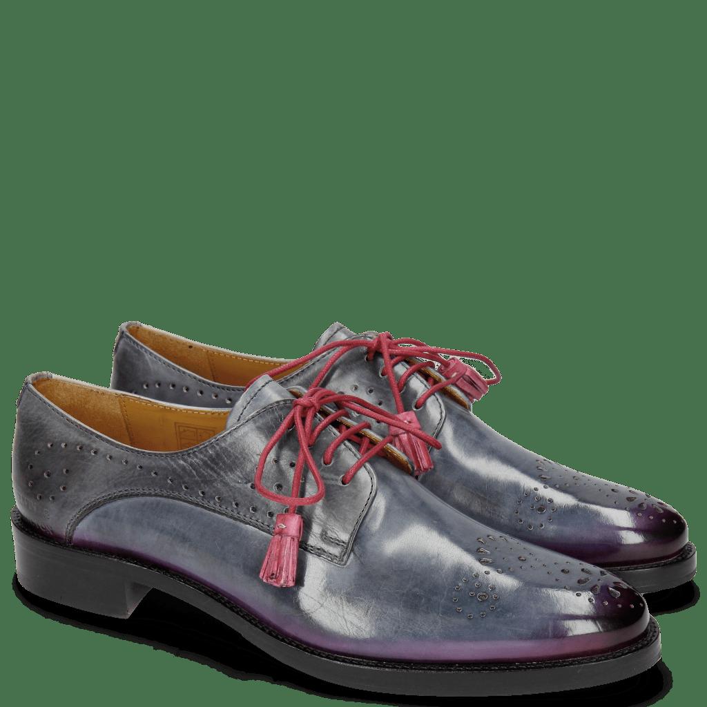 Derby schoenen Betty 2 Satelite Shade Dark Pink