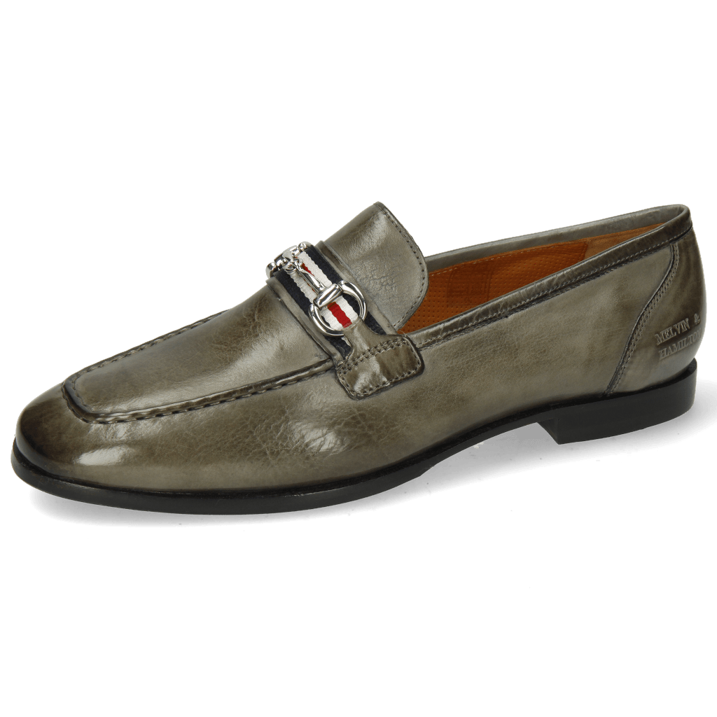 Loafers Clive 16 Imola Grigio Strap Trim