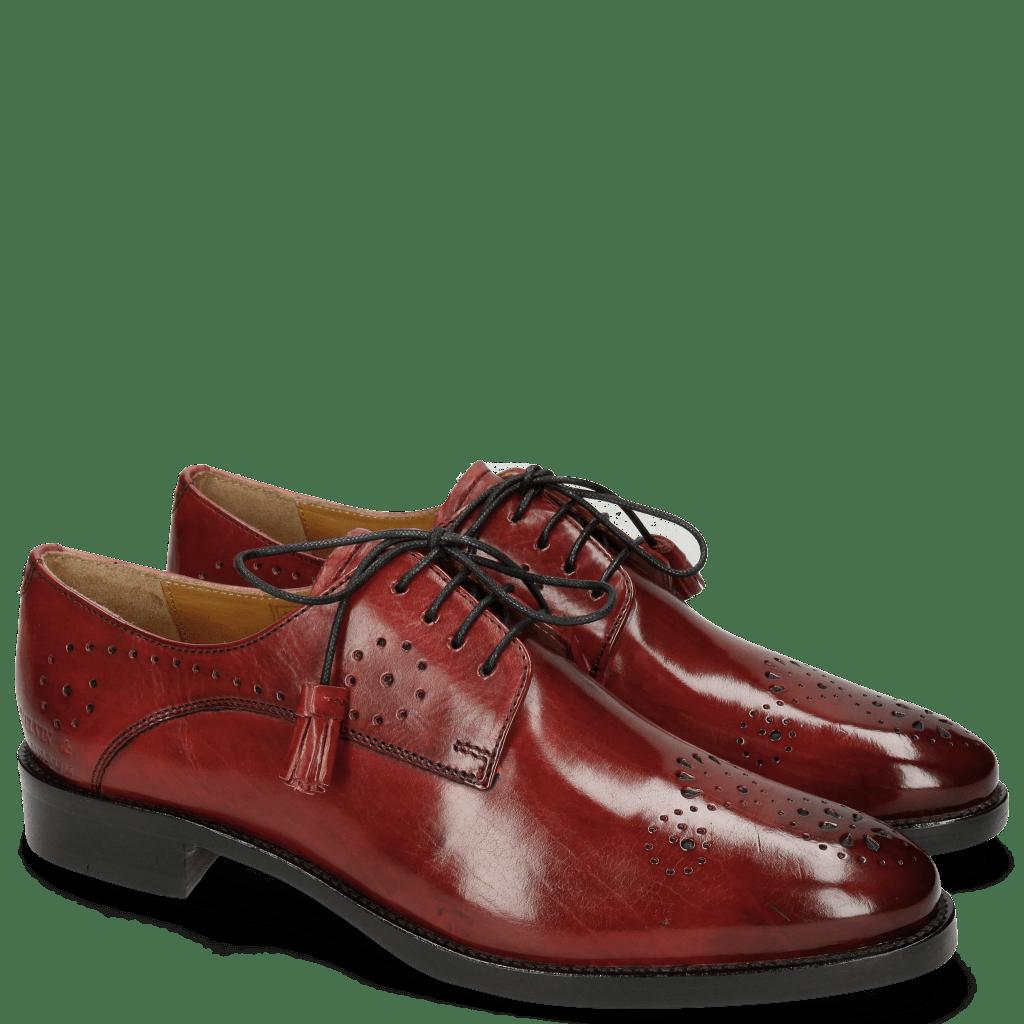 Derby schoenen Betty 2 Ruby Tassel Ruby